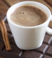 Heiße Schokolade oder Kakao mit Orangello