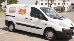 Orangello Lieferwagen