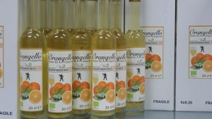 Orangello Label für Wiener Rauchfangkehrermeisterschaft