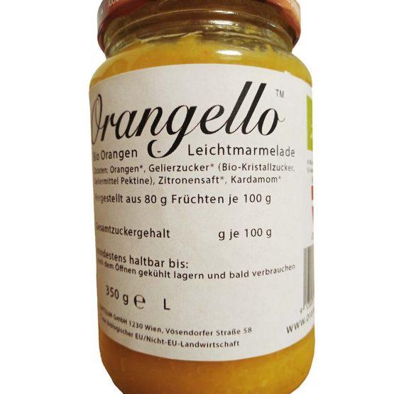 Bild: Bio Orangen Leichtmarmelade