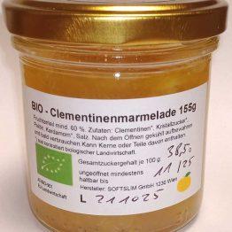 Bio-Bild Bio-Clementinenmarmelade